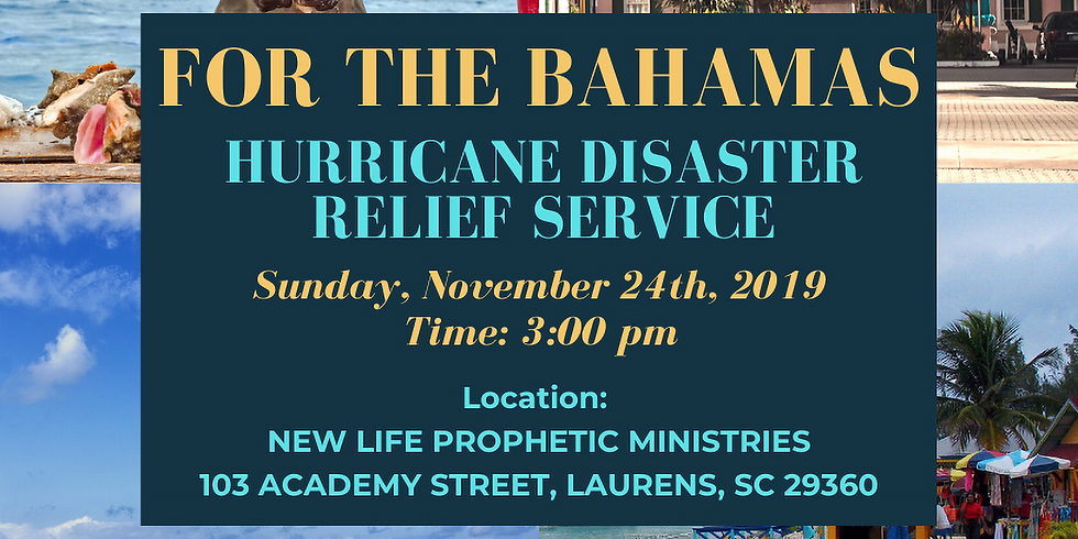 Bahamas Disaster Relief Service