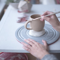 Female at Pottery Workshop