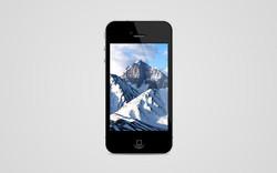 Montagne sur iPhone