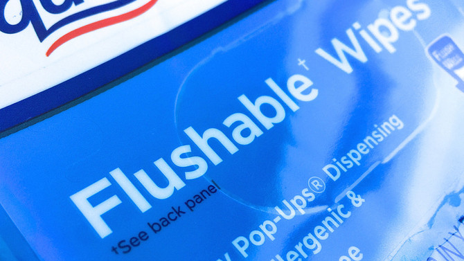 Fact or Crap: Are flushable wipes really flushable?