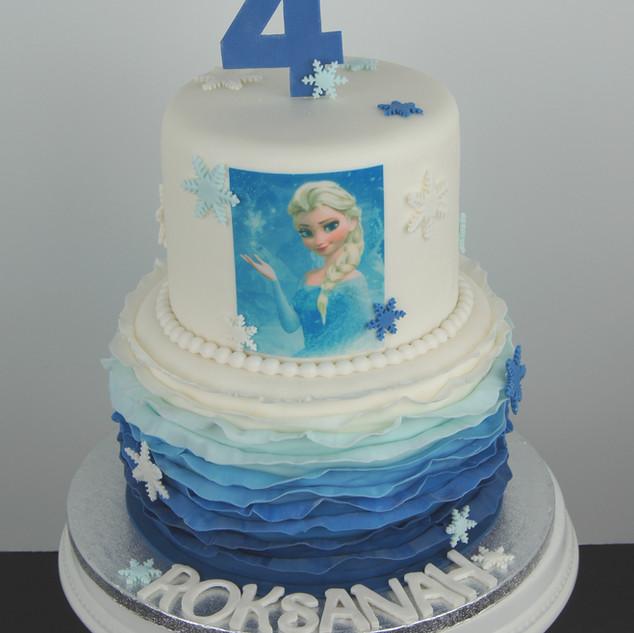 """Elsa/'Frozen"""" Tiered Cake.jpg"""