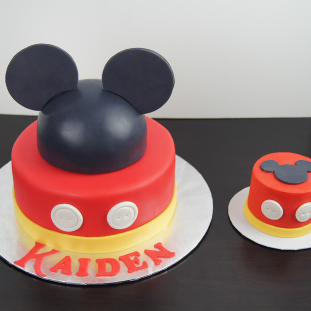 Mickey Mouse Smash Cake.JPG