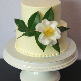 Cream Cheese Wedding Cake