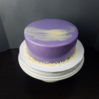 Purple Mirror Glaze