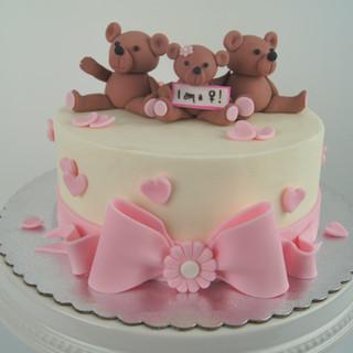 'I'm a Girl' Baby Shower Cake .JPG