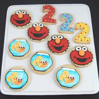 Elmo and Friends Sugar Cookies.JPG