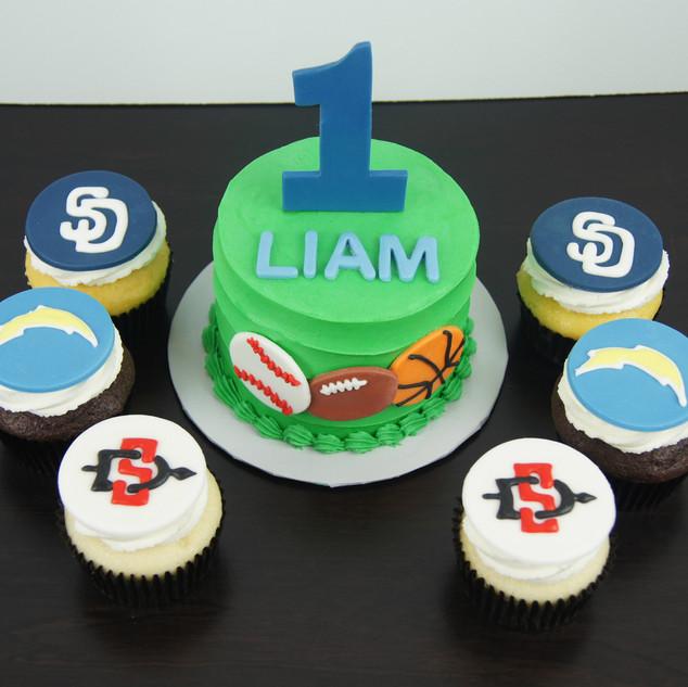 Sports Fan Smash Cake.JPG