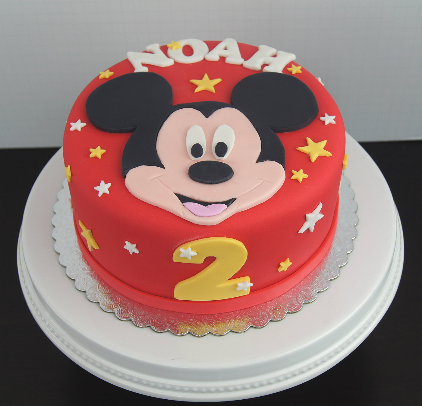 Mickey Mouse Cream Cake Images : Treat Confectionery San Diego Cakes and Chocolates ...