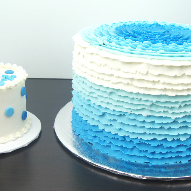 Blue Polka Dot Smash Cake.JPG