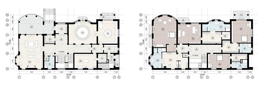 Эскизный проект дома и коттеджа