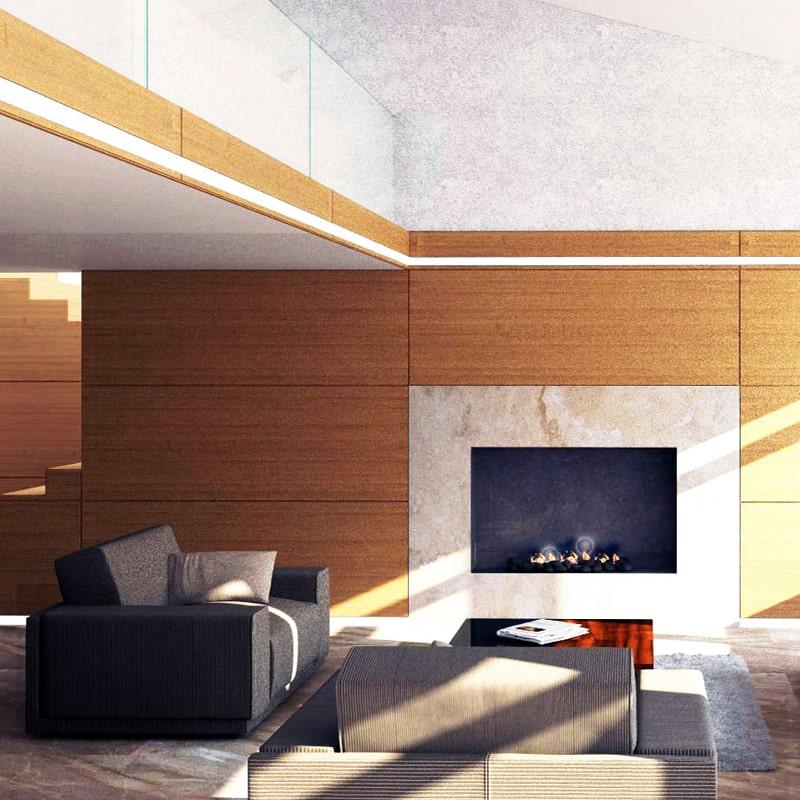 Дизайн-проект современного интерьера