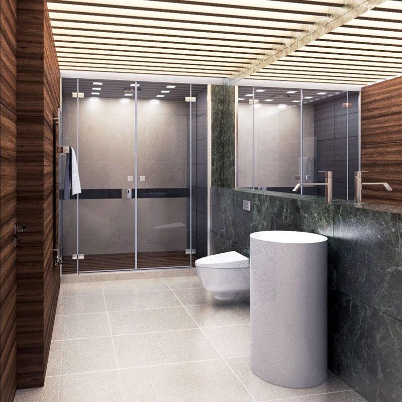 Дизайн-проект интерьера ванной