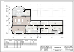 Эскизный проект дома. План цоколя.