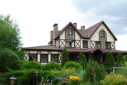 Проект дома в нормандском стиле