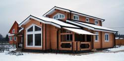 проектирование дома из бруса