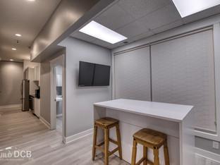 Home builder office kitchen