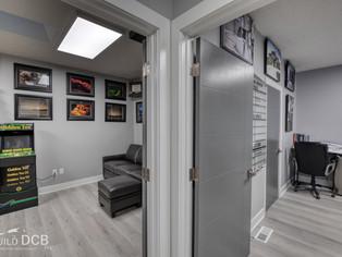 office view custom home