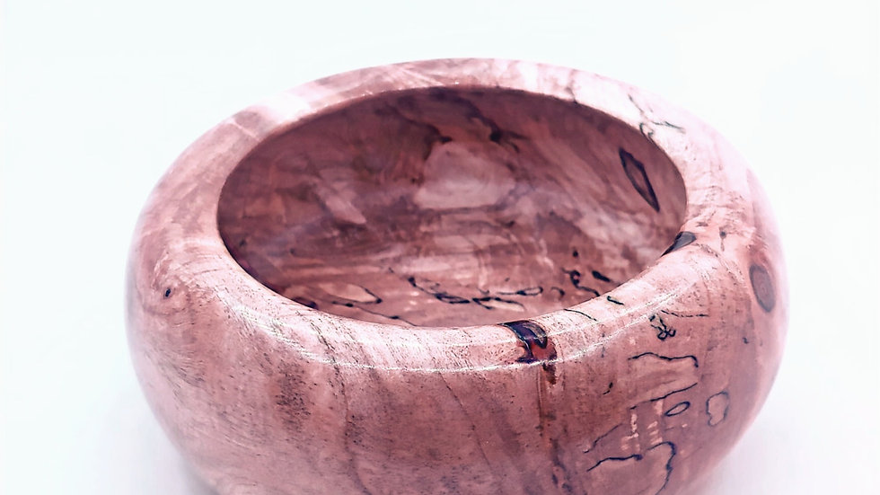 Spalted Silver Maple bowl