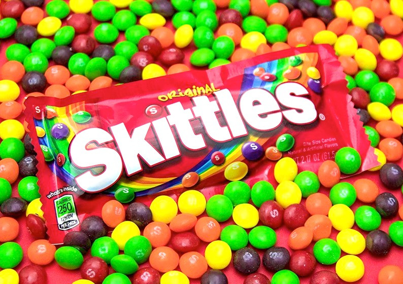skittles, sweets, candy, original