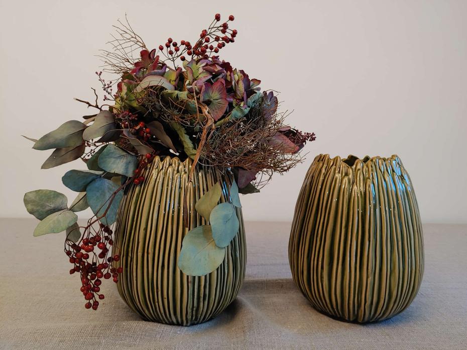 Vase keramik ohne Dekoration