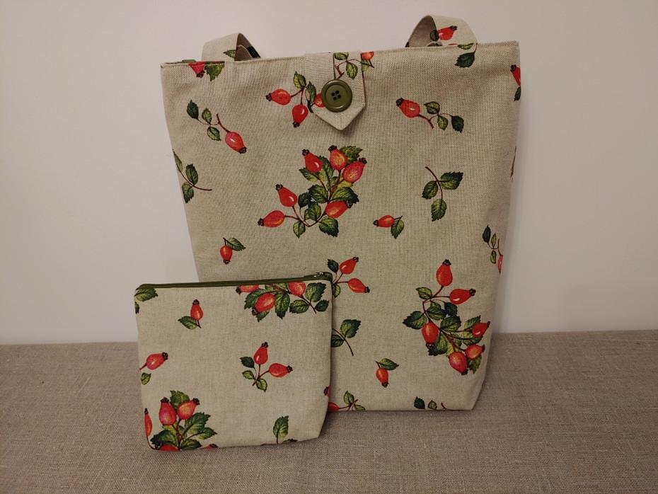 Stofftasche mit Beutel 1