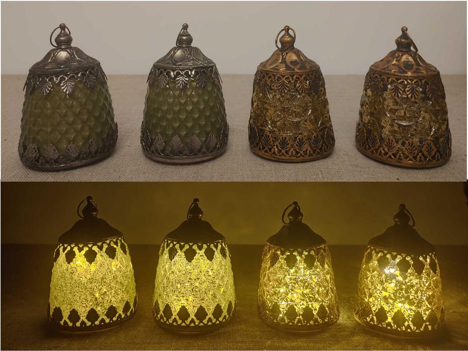 LED Licht gold oder grün
