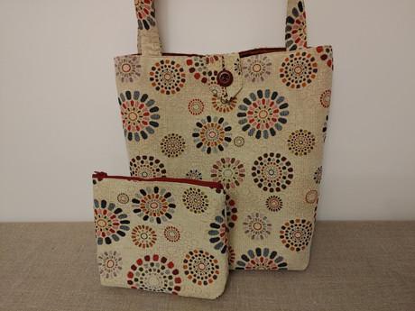 Stofftasche mit Beutel 2