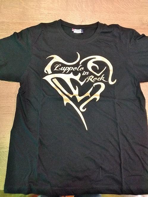 T-Shirt Black & Gold