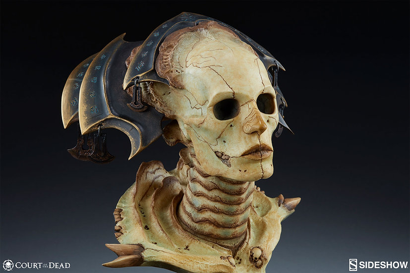SIDESHOW XIALL : THE RESOLVE of BONE 1/1 Life-Size Bust
