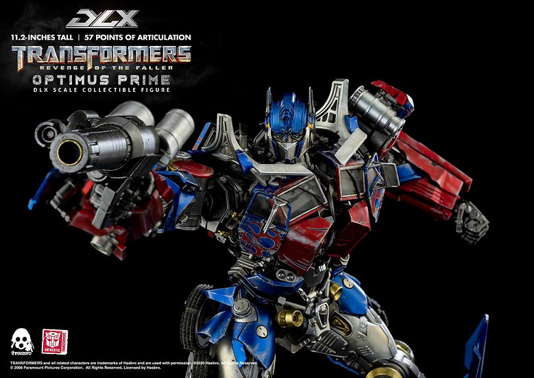 [LIMIT ORDER] threeZero X HASBRO - DLX:  Optimus Prime