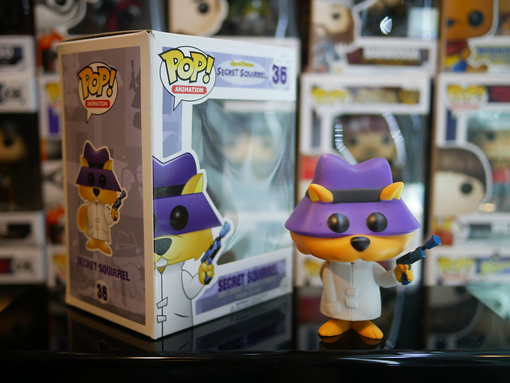 Funko Pop Disney :  Hanna Barbera - Secret Squrrel