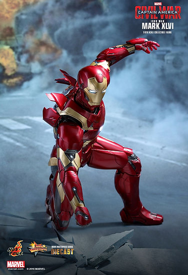 Hot Toys : CAPTAIN AMERICA: CIVIL WAR IRON MAN MARK XLVI