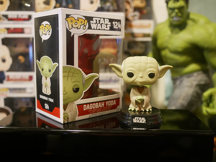 Funko Pop Star Wars : Degobah Yoda