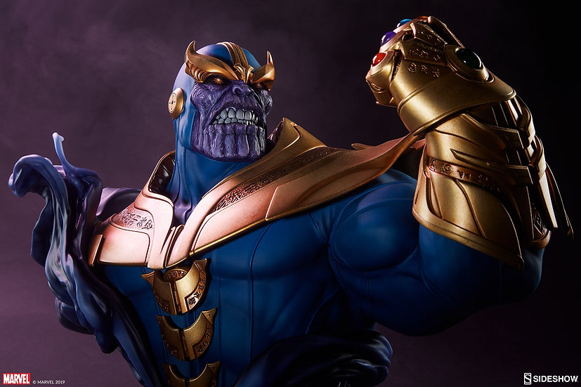SIDESHOW BUST : THANOS