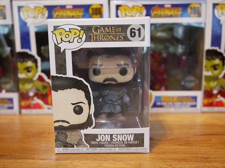 Funko POP TV: GOT S8 - Jon Snow (Beyond the Wall)