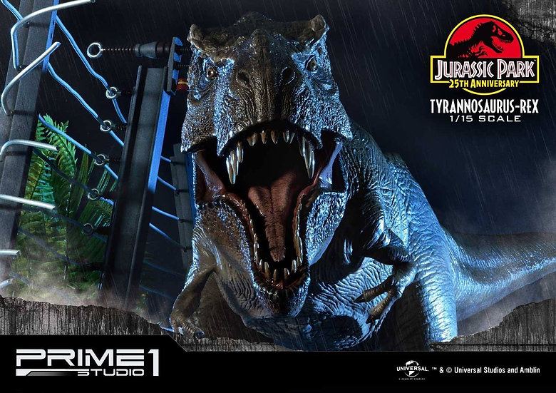 PRIME1 : Jurassic Park (Film) Tyrannosaurus-Rex 1/15