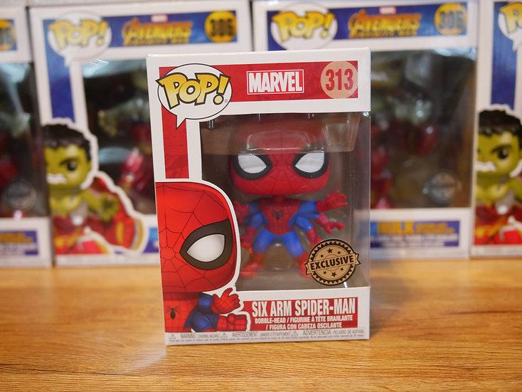 Funko POP Marvel: Marvel Comics - Spiderman SixArm IE