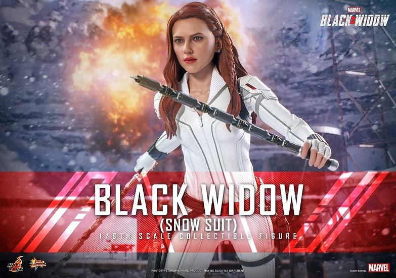HOT TOYS 1/6 :  BLACK WIDOW (SNOW SUIT)