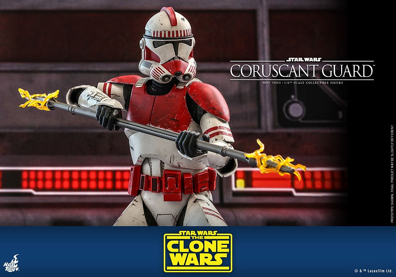 HOT TOYS 1/6 : STAR WARS: THE CLONE WARS™ CORUSCANT GUARD™