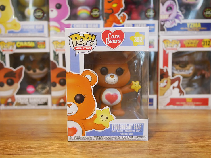 Funko POP Animation: Care Bears - Tenderheart Bear