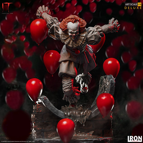 IRON STUDIOS 1/10 : Pennywise Deluxe