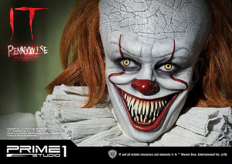 PRIME1STUDIO 1/2 : Pennywise Dominant Bust