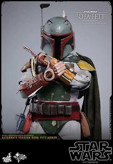 Hot Toys : STAR WARS EPISODE V THE EMPIRE STRIKES BACK BOBA FETT (DELUXE VERSION