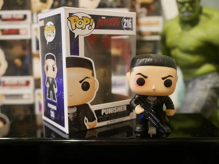 Funko Pop Marvel : Daredevil TV - Punisher w/Chase