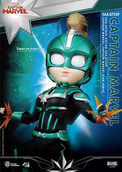 EGG ATTACK : Captain Marvel (Carol Danvers)