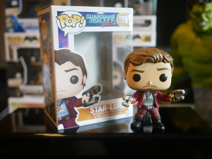 Funko Pop Movies : Guardians of the Galaxy 2 - Star Lord