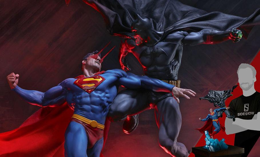 SIDESHOW DIORAMA : BATMAN vs SUPERMAN [EXCLUSIVE]