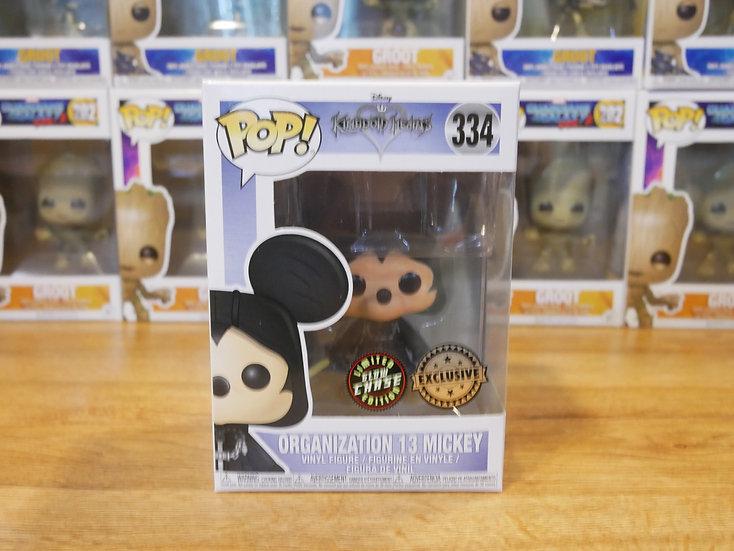 Funko POP Disney: KH -Mickey -Org13Mickey(Hood)(CHASE)