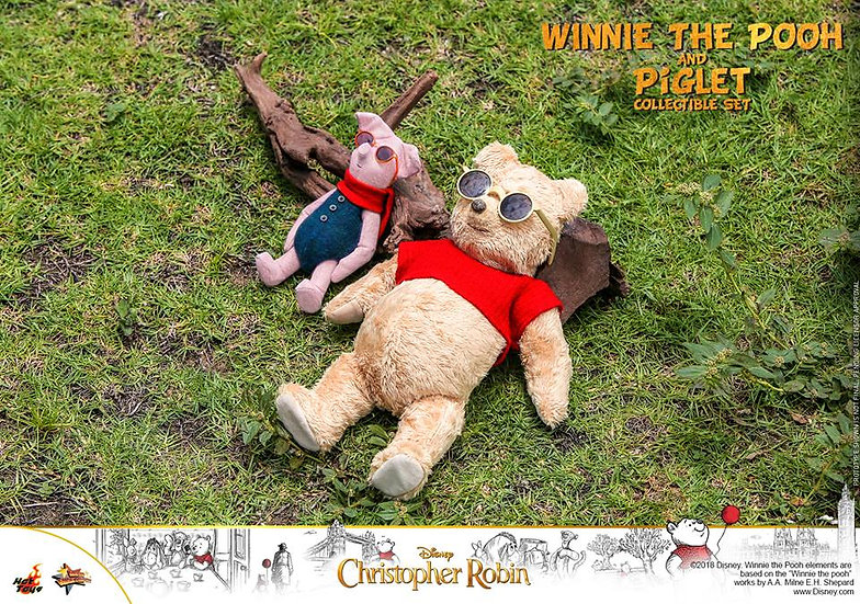 Hot Toys : CHRISTOPHER ROBIN WINNIE THE POOH AND PIGLET