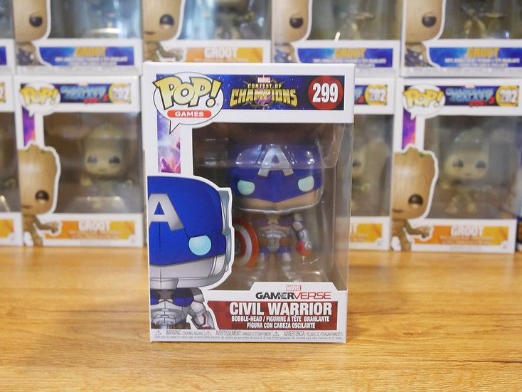 Funko POP Games: Marvel-CoC-Civil Warrior